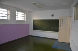 Sala de aula antes da reforma