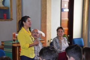 Zenúbia Andrade fala sobre a vocação leiga