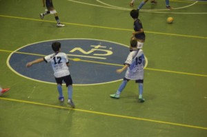 Equipe juvenil de futsal