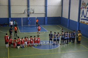 Cobrança de pênaltis categoria mirim do futsal